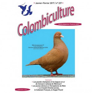 Colombiculture 227 couverture