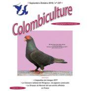 Colombiculture 237 est à l'imprimerie