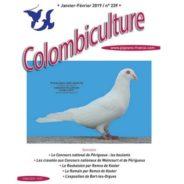 Colombiculture n°239 à l'imprimerie