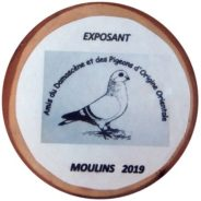 Le championnat de France 2019 du Damascène et des Pigeons d'Origine Orientale à Moulins