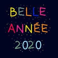 Bonne et belle année 2020