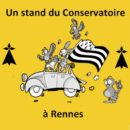 Un stand du Conservatoire au Concours national de la SNC à Rennes